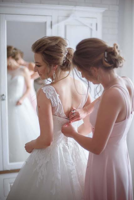 Stylizacja ślubna Panny Młodej