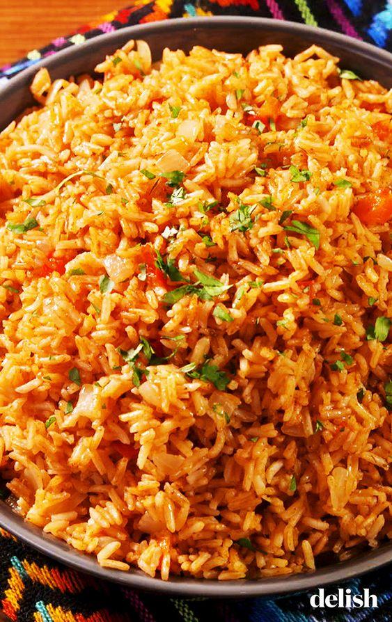 Best-Ever Spanish Rice #spanish #dinner #glutenfree #delish