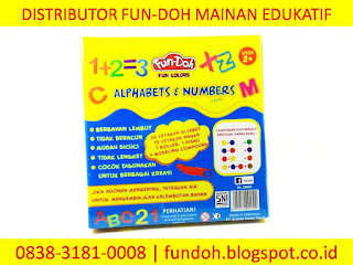 Fun-Doh Alphabets & Numbers, fun doh indonesia, fun doh surabaya, distributor fun doh surabaya, grosir fun doh surabaya, jual fun doh lengkap, mainan anak edukatif, mainan lilin fun doh, mainan anak perempuan