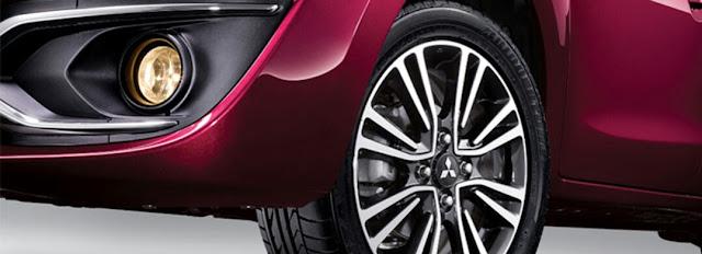 Desain Baru Alloy Wheel New Mirage