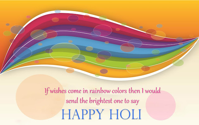 Holi Images With Quotes 2017