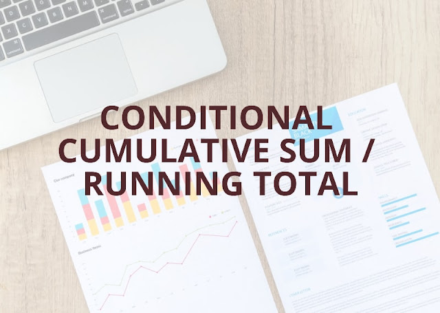 Microsoft Power BI Desktop Exercise - 3 | Conditional Cumulative  Sum / Running Total