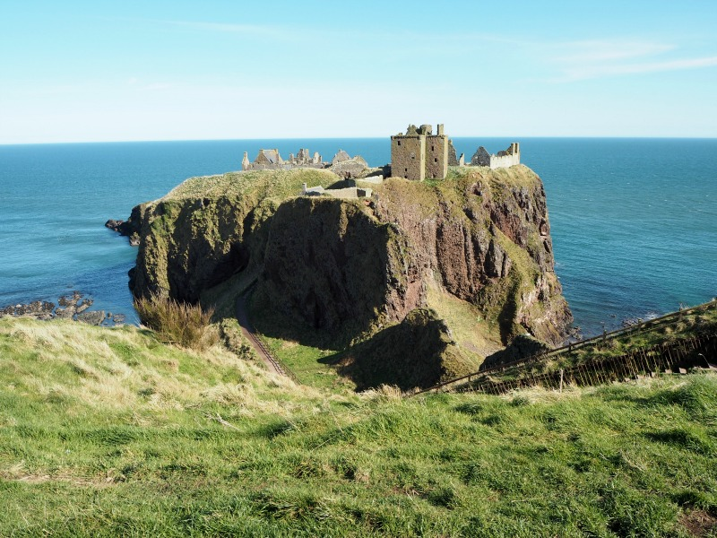 Dunnottar Castle - on the cliffs at Stonehaven