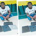 Barely 24 hours after he was employed as a guard, man locks colleagues up, steals Laptops (photo)