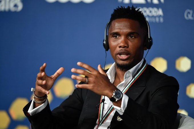 Libya Slave Trade: Samuel Eto'o denies paying flight tickets to airlifts several Cameroonians back to the country
