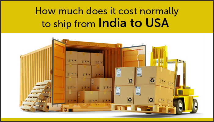 How much does it cost normally to Shipping to India from USA