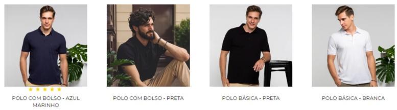 Perfeitas Camisas Polo Masculina