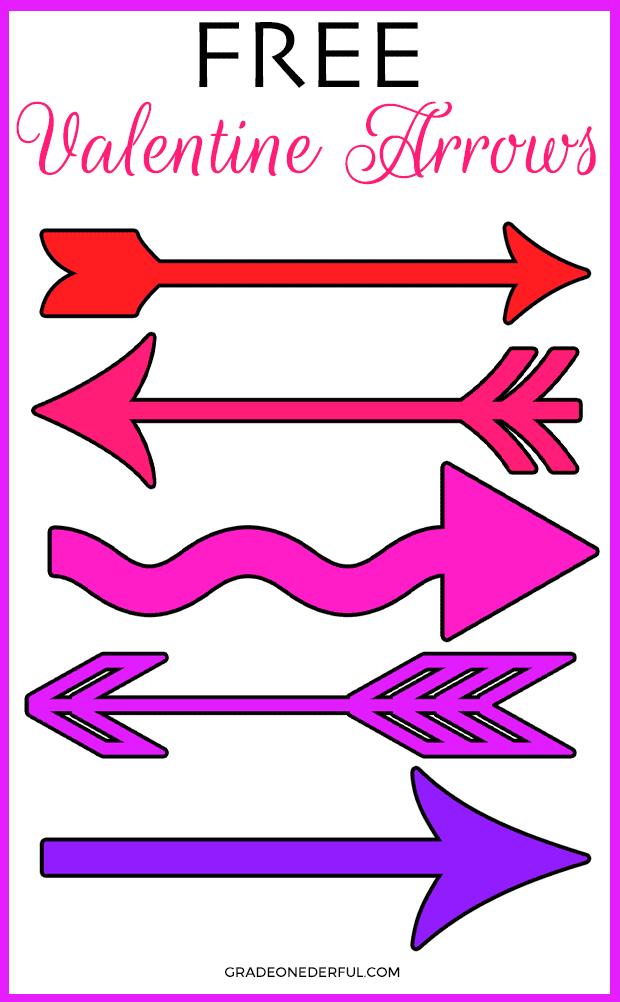 14 Days of Valentine Clip Art Freebies: Day 3  Sweet Valentine Arrows