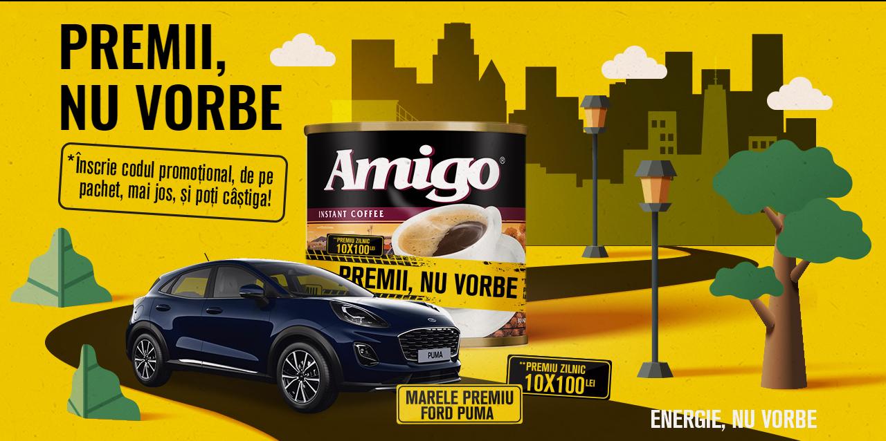 Concurs AMIGO 2021 - Castiga o masina Ford Puma - cafea - castiga.net