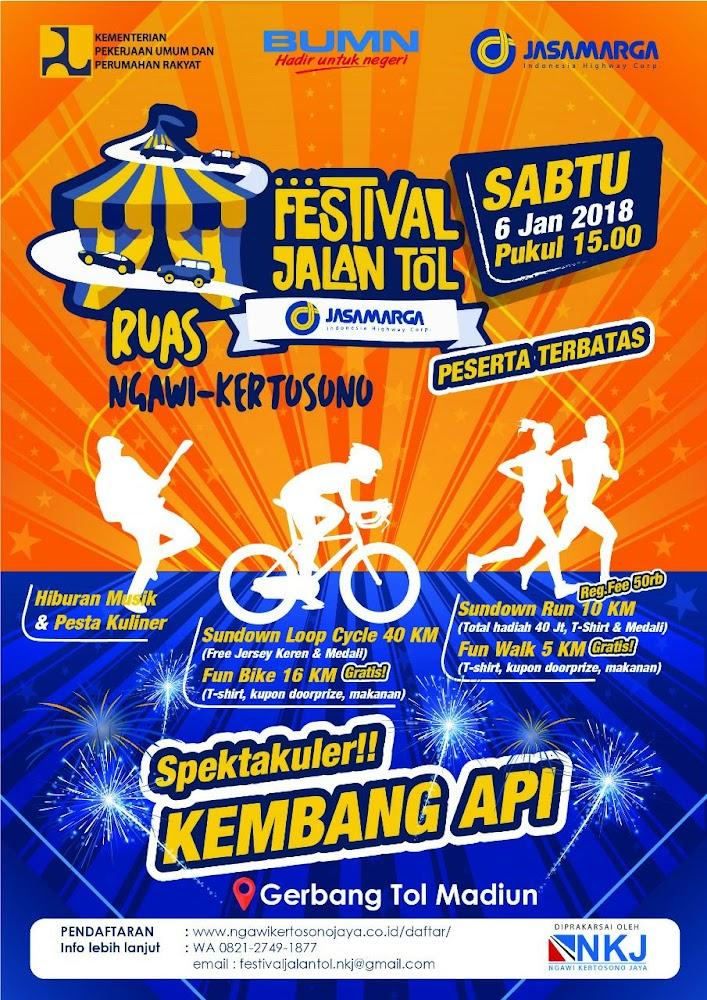 Festival Jalan Tol - Ruas Ngawi Kertosono • 2018