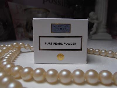 Moroccan Natural perlový prášok