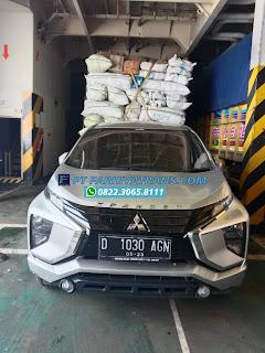 Pengiriman mobil  Mitsubish Xpander dari Bandung ke  Sangatta dengan kapal roro melalui Pelabuhan Tanjung Perak Surabaya, perkiraan perjalanan 3 hari.
