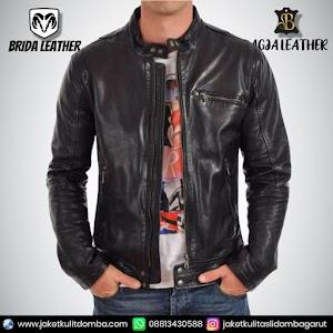Jual Jaket Kulit Asli Garut Pria Domba Original Brida Leather B60 | WA 08813430588