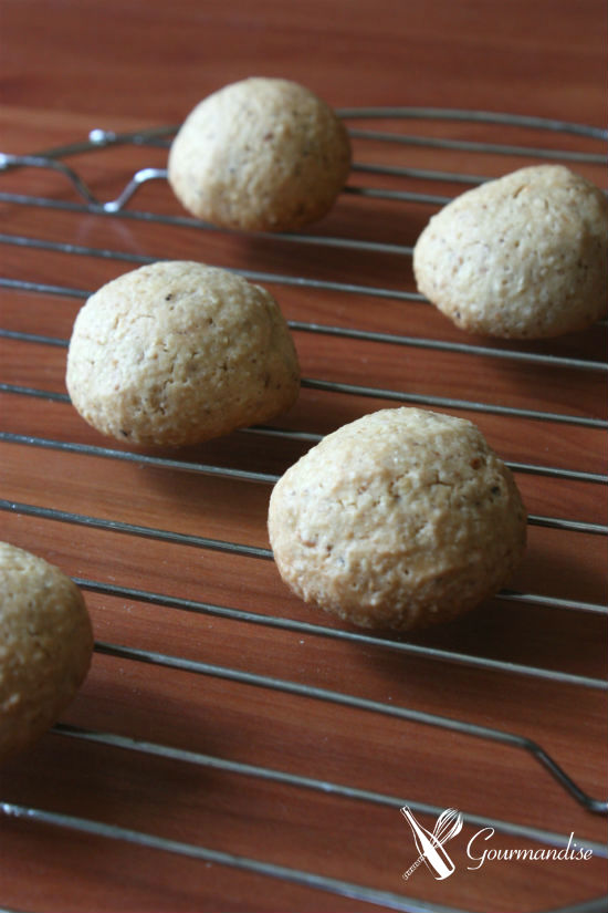 Cookies de avelã
