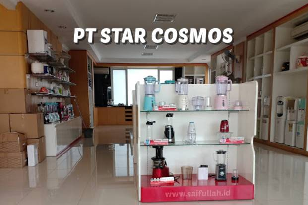 Lowongan Kerja Admin Produksi di PT Star Cosmos Tangerang