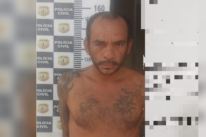 """O """"Batman"""" foi preso em Pedreiras acusado de tráfico de drogas"""
