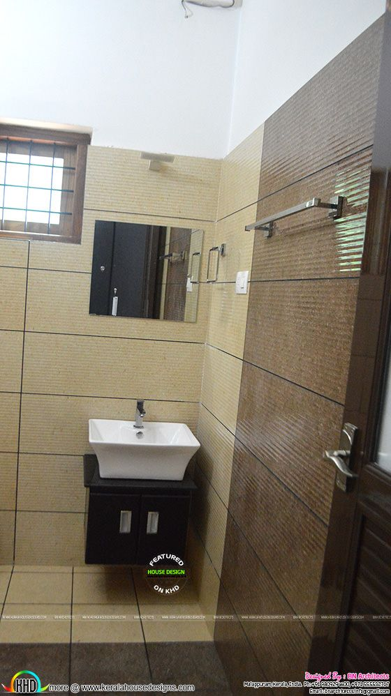 Completed house at nilambur kerala kerala home design for Bathroom ideas kerala