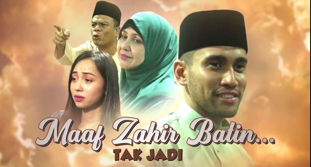Maaf Zahir Batin Tak Jadi