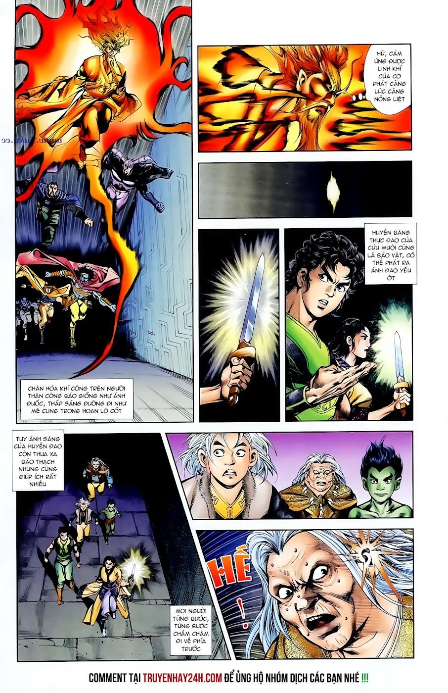 Cơ Phát Khai Chu Bản chapter 98 trang 11