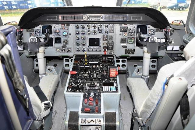 CN 235 Cockpit