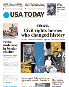 Read Online USA Today Magazine 23 September 2021 Hear And More USA Today News And USA Today Magazine Pdf Download On Website.