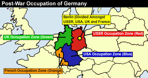 Map Of Germany Occupation Zones.Geographic Travels The Thinking Behind The Drawing Of The