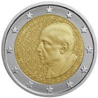 Kreikka 2 euro kolikko dimitris mitropoulos 2016