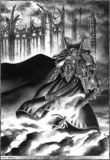 Mephiston Lord of Death. By Mark Gibbons
