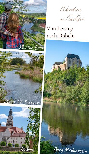 Lutherweg von Leisnig nach Döbeln - Wandern in Sachsen - Region Leipzig - Burg Mildenstein - Kloster Buch - Wanderung 19