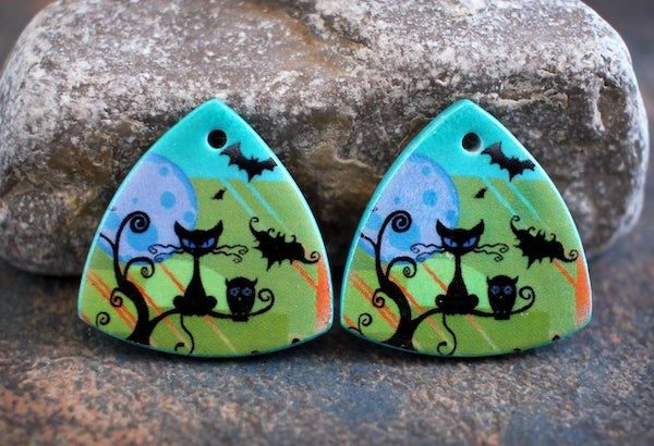 polymer%2Bclay%2Bearrings%2Bcharms%2Bcat%2Bhalloween