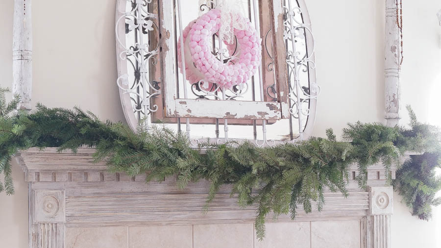 Christmas-DEcorating Ideas-Mantel- From My Front Porch To Yours