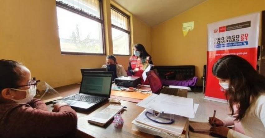 QALI WARMA: Programa social capacita a Comités de Compra en el marco del Proceso de Compras 2021 en Cusco - www.qaliwarma.gob.pe