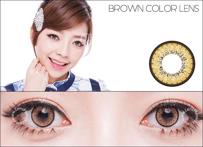 eos new adult brown circle lenses