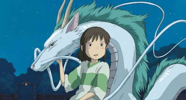 ghibli spirited away anime movie
