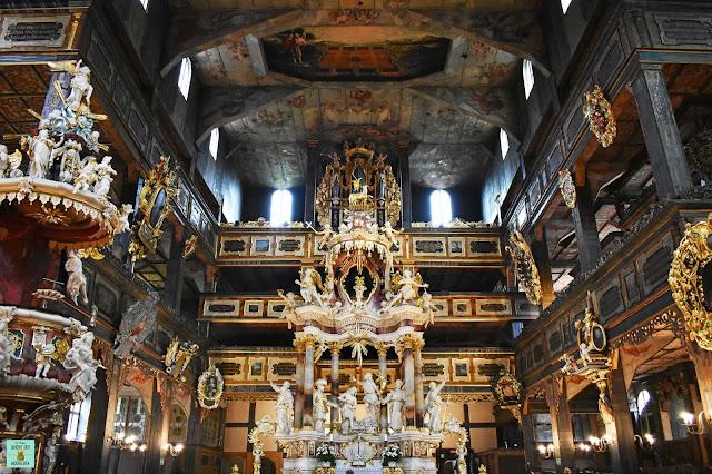 Iglesia de la Paz de Swidnica, Polonia