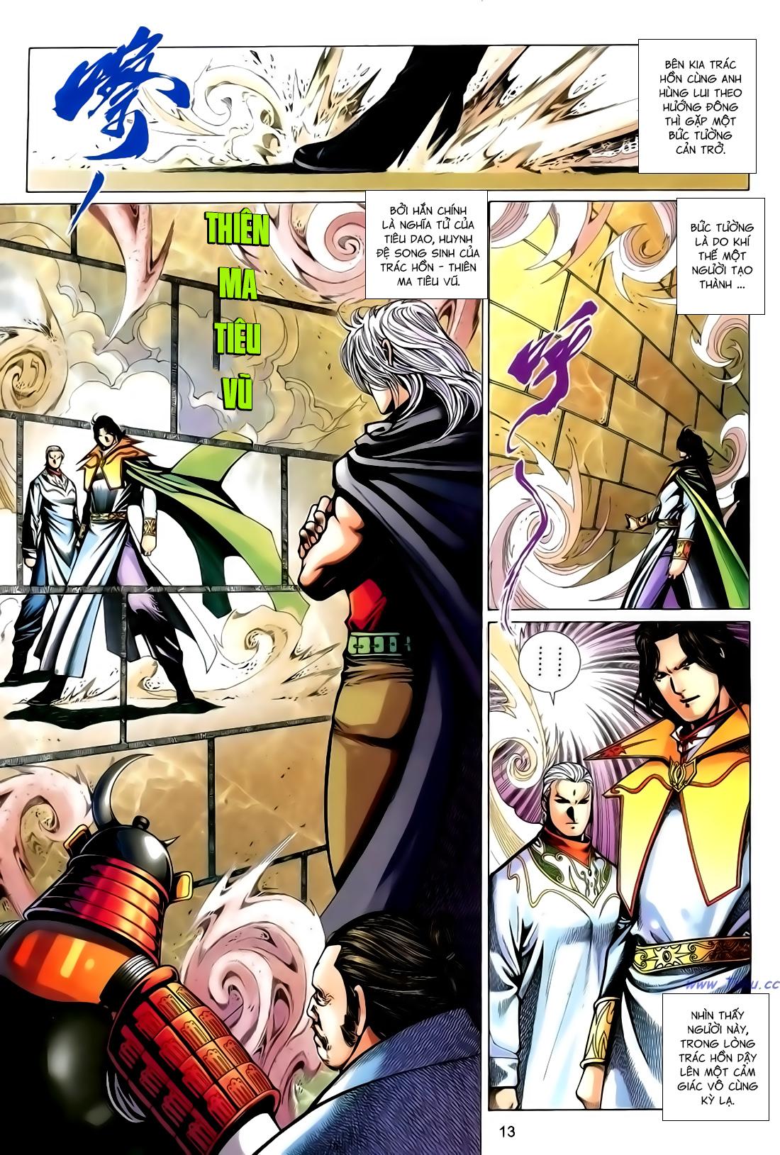Anh Hùng Vô Lệ Chap 167 - Trang 13