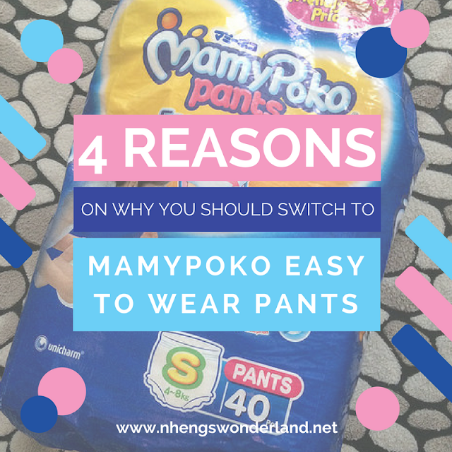 4 Reasons on Why You Should Switch to MamyPoko Easy to Wear Pants