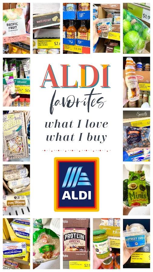 ALDI Favorites: What I Love, What I Buy...my recent popular ALDI buys.