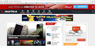 Download Gratis Template Jalan Tikus Versi Blogspot