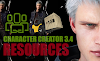 CHARACTER CREATOR 3.4 RESOURCES