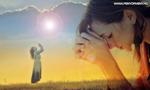 A hit, az ima és gondolat ereje