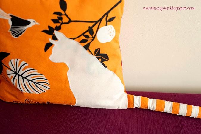 Poduchy, Poszewkę na poduszkę, poszewka, poszewki, z psem, kotem, na prezent, z ogonem, wystającym, dla dziecka, kolorowe, Poduszki,