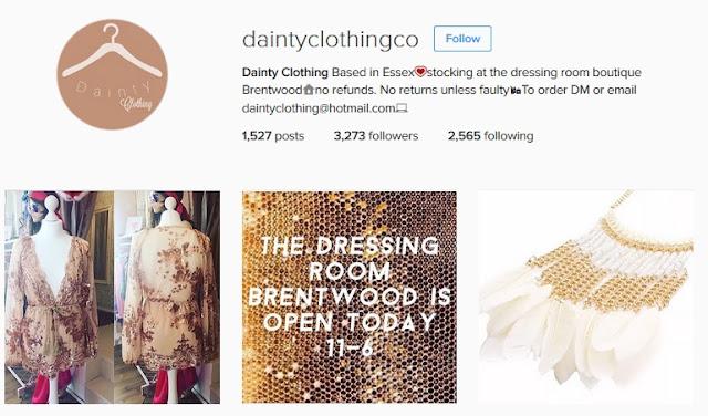 https://www.instagram.com/daintyclothingco/