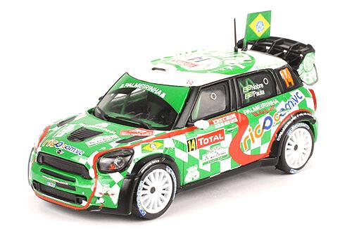 collezione rally monte carlo Mini John Cooper Works WRC 2012 P.Nobre - E.Paula