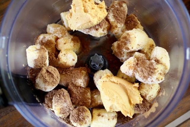Helado de chocolate y mantequilla de maní / Peanut butter chocolate ice cream