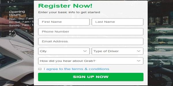 Cara Daftar Driver Grabbike online Lengkap Dengan Persyaratannya