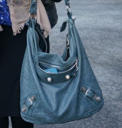Balenciaga giant hardware Day bag in 2009 tempete