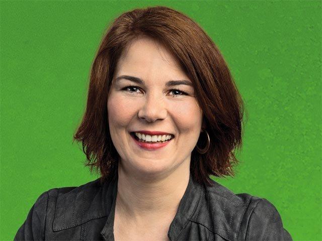 Armut in Deutschland: Grünen-Chefin Annelena Baerbock mit ...