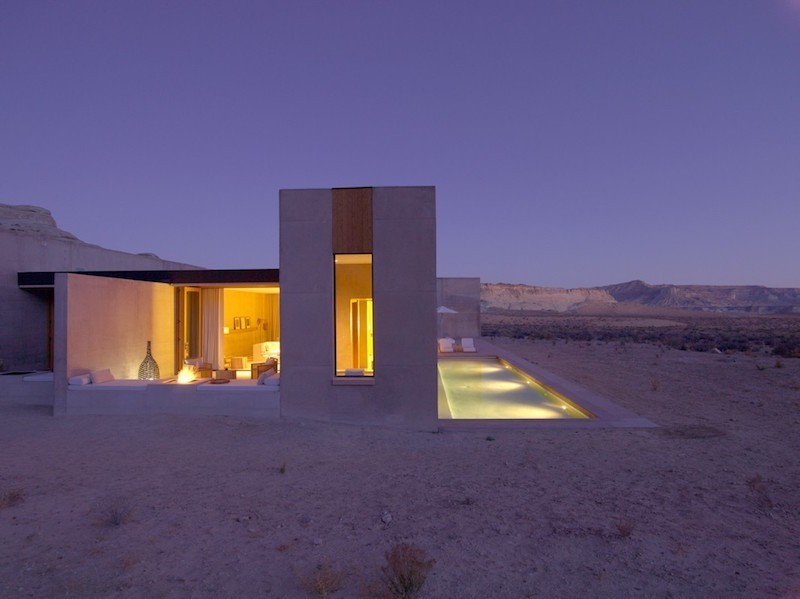 10 Of The Most Beautiful Hotels In America That Deserve A Spot On Your Travel Bucket List - Amangiri Resort, Canyon Point, Utah