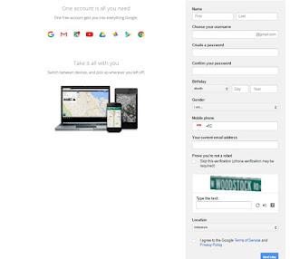 Cara mudah membuat email Gmail 2016
